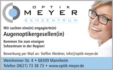 Optiker/In gesucht ! - OptikMeyer-01